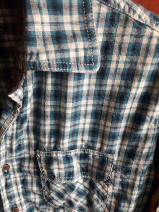 camisa hombre con coderas