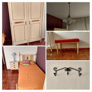 OPORTUNIDAD: Dormitorio, lámpara y accesorios