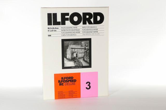 Papel fotográfico ILFORD RC 10,5x14,8 cm