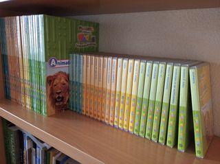 Enciclopedia infantil de Planeta (24 libros+24 DVD