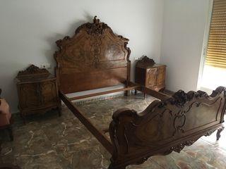 Dormitorio Antiguo Nogal