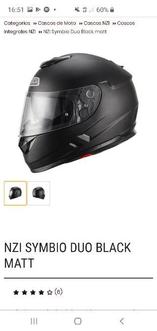 casco moto nzi xl