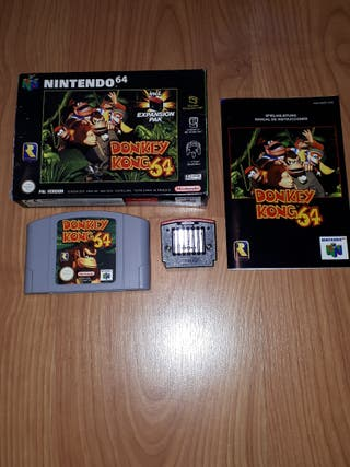 Donkey Kong 64 con Expansion Pak