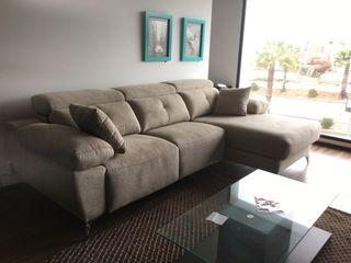 Sofa cheslong 2 motores