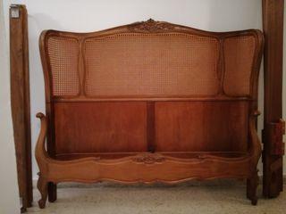 Cama dormitorio tipo Luis XVI o similar
