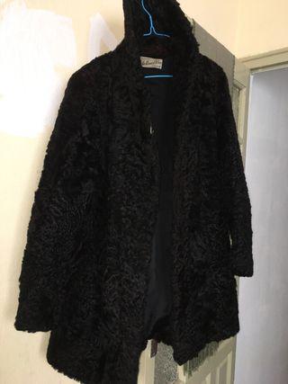 Abrigo de piel de chinchilla AUTENTICO