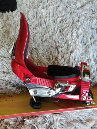 Fijaciones y cuchillas splitboard