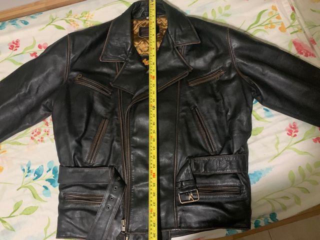 Cazadora de cuero custom original