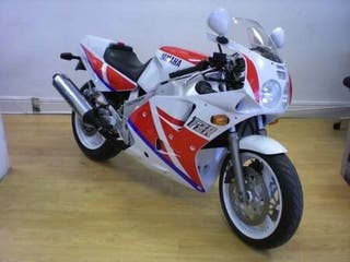 Yamaha fzr1000 exup.