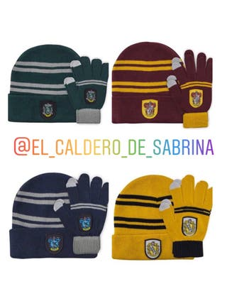 Gorro y guantes Harry Potter