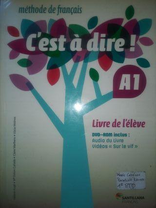 Libro de Francés (A1) + CD. Santillana Français