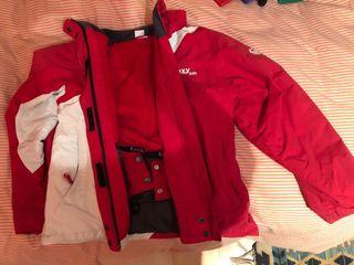 Abrigo montaña Roxy girl talla 16 rojo