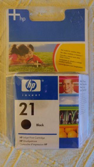 Cartucho de tinta original HP 21