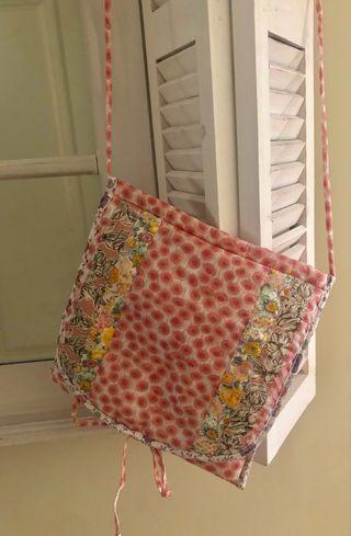 Bolsito tela Poppy Rose Liberty Fabrics
