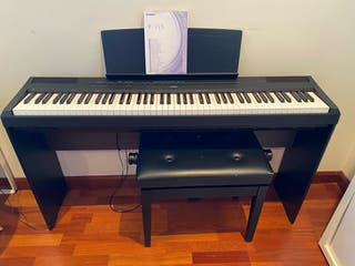 teclado Yamaha P-115B 88 teclas