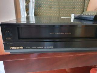 Reproductor grabador VHS Panasonic nv-g45 hq