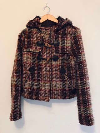 Pull&Bear Check Jacket Size M