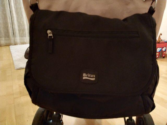 Silla Britax B-agile + silla ROMER GRUPO 0+ISOFIX