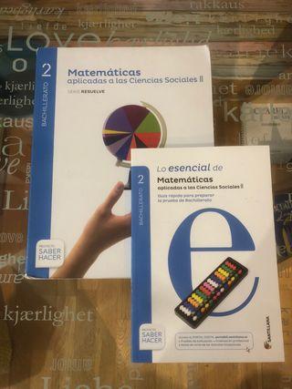 Libro de texto Matemáticas 2° Bachillerato
