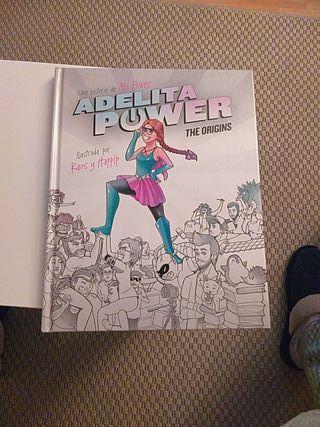 """"""" Adelita Power the origins"""" libro/ Cómic"""