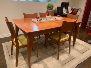 Mueble de salón +Mesa comedor con sillas