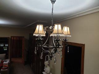 Lámpara 5 pantallas