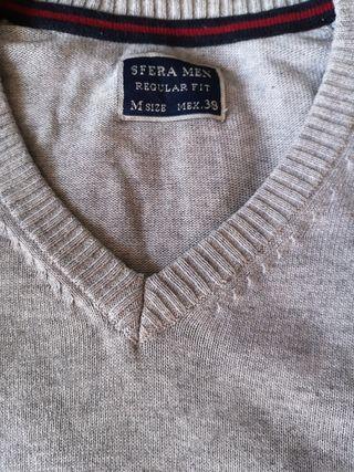 Jersey de lana, marca sfera, color gris