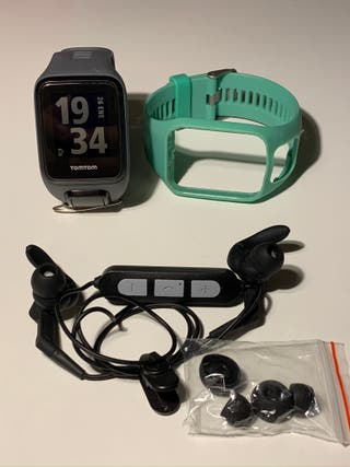 Reloj GPS TomTom Runner 3 Cardio + Music