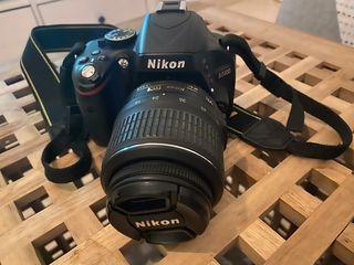 cámara réflex nikon D5100