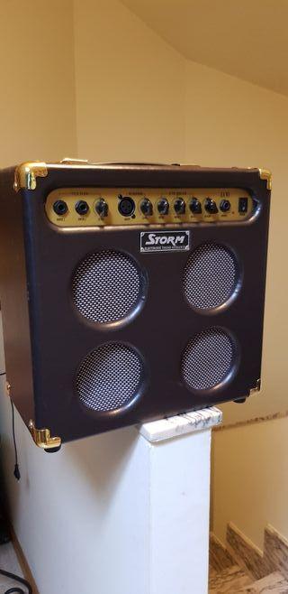 amplificador guitarra acústica storm 30w