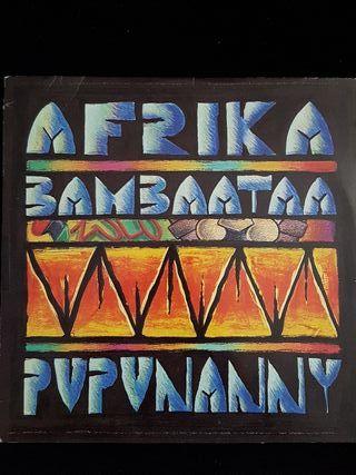 Disco vinilo Afrika Bambaata - Pupunanny