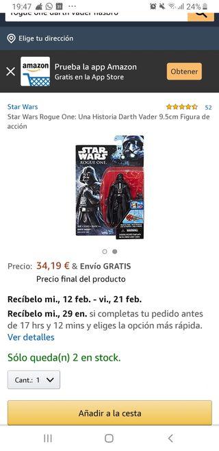 Darth Vader de coleccionista, figura de Rogue One.