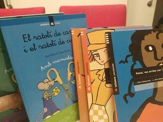 Cinco libros literatura infantil