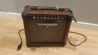 Amplificador guitarra y voz Behringer Ultracoustic