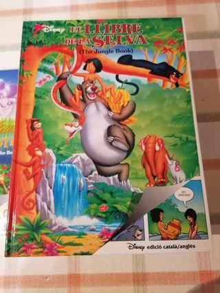Colección libros Disney en catalán/inglés