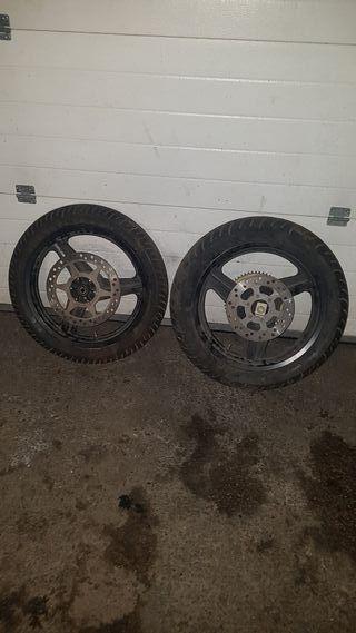 ruedas supermotard
