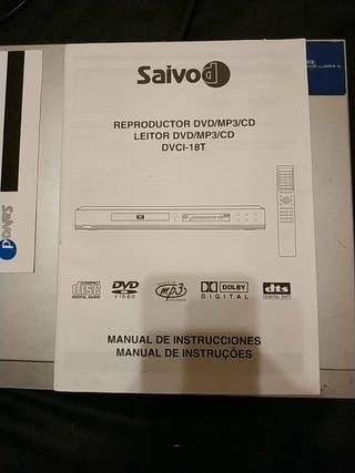 reproductor DVD /MP3/ Cd