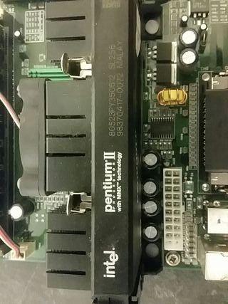 placa y micro pentium 2 a 350 mhz