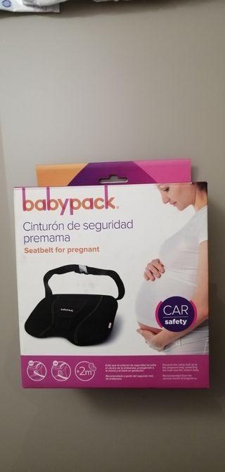 Cinturón de seguridad embarazada