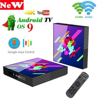 Google Tv box android 9,0 H96 MAX 2G 16G