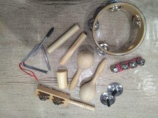 Set de instrumentos musicales infantiles