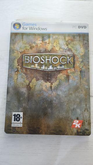 Bioshock Pc - Caja metálica