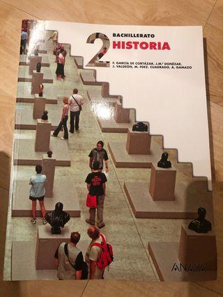 Libro 2 BACHILLERATO Historia