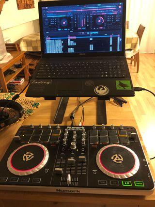 Mesa de mezclas controladora dj