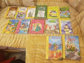Saga de libros de Gerónimo Stilton y muchos más...