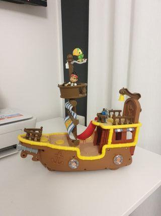 Barco Jacke el pirata