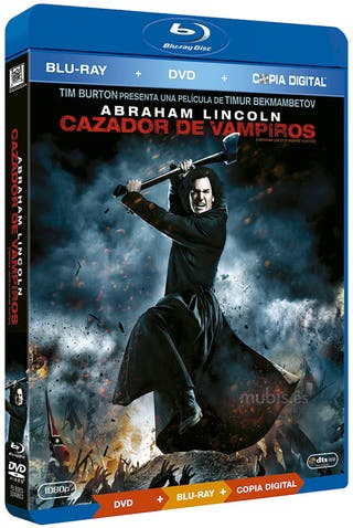 Abraham Lincoln Cazador Vampiros Bluray + DVD
