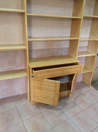 Mueble librería modular y más