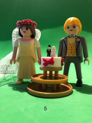 Playmobil pareja de novios 5 boda