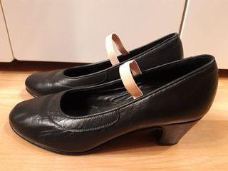 Zapatos de baile negros